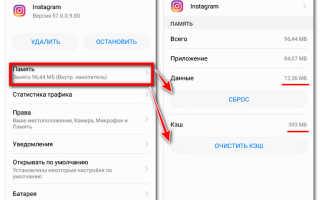 Как и зачем очищать кэш Instagram на iPhone и Android